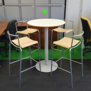 Allemuir Table and 4 Stools