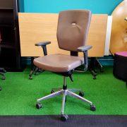 Senator Sprint Leather Chair