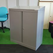 Bisley 1M Double Door Cupboard