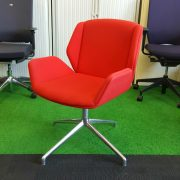 Boss Design Kruze Chair Red