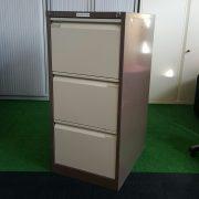 Bisley 3 Drawer Filing Cabinet