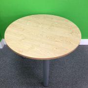 Light Oak Meeting Table