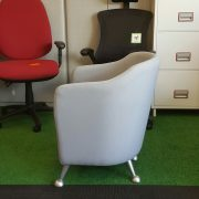 Solace Compact Tub Chair Side View
