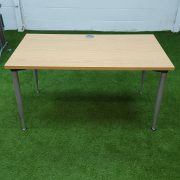 Maple Angle Leg Desk 1200x600mm