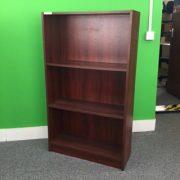 Mahogany Coloured Bookcase