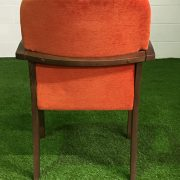 Rear view of meeting chair
