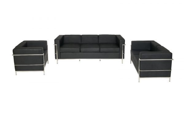 Corbusier style reception seating