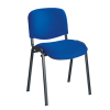 budget stacking chair blue