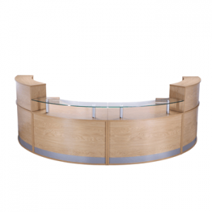Curved Modular Reception Counter