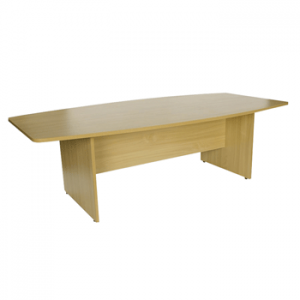 Endurance Slab Ended Boardroom Table - Beech