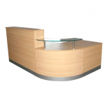 L Shaped Reception Counter