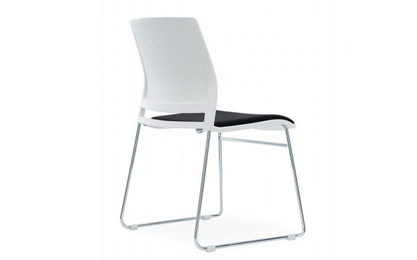 White Conference with Seat Pad