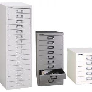 New Bisley Soho Multidrawer Filing Cabinet For A4 Paper / Documents