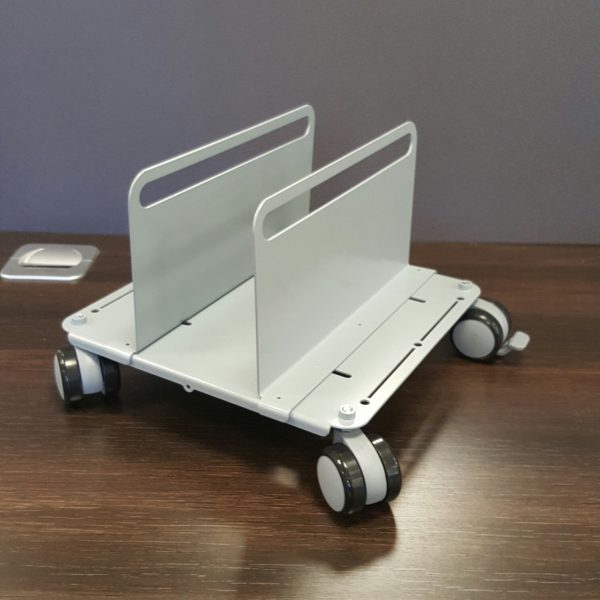 CPU holder on wheels