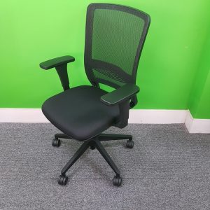 New Lexi Operator Office Chair, Mesh Back & Armrests, Adjustable, Swivel Base