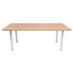 New Endurance Rectangle or Circular Meeting Table - Beech / Light Oak