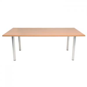 New Endurance Rectangle or Circular Meeting Table - Beech / Light Oak
