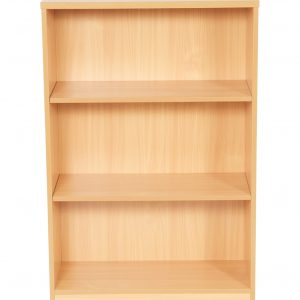 New Bookcase For Home & Office - Beech / Light Oak. Small - Large Sizes