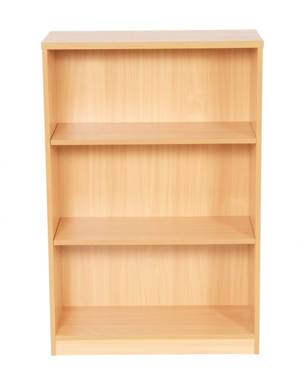 New Bookcase For Home & Office – Beech / Light Oak. Small – Large Sizes