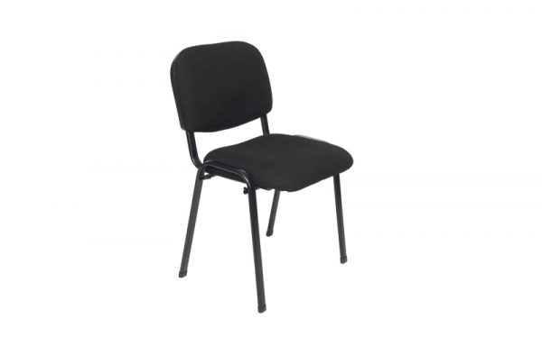 Stackable Conference Meeting Chair, Padded, Metal Frame (New)