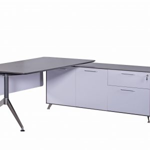 Naples Executive Desk with Return