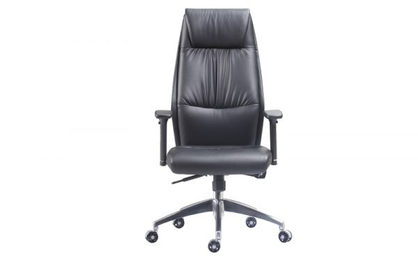 executive faux leather chair front