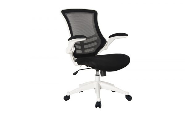 mesh operator chair side white base