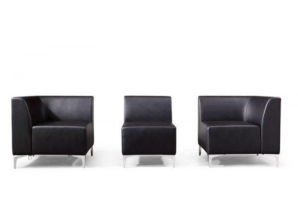 modular faux leather sofas