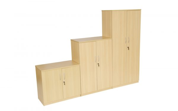 Beech MFC Storage Cupboard - Various Sizes