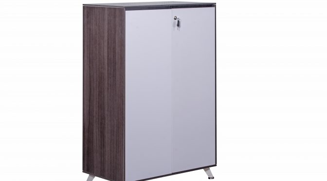 Naples Modern Executive Office Storage Cupboard, Modern, Double Door (new)