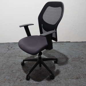 Used Verco Mesh Designer Office Chair, Fully Adjustable, With Armrests