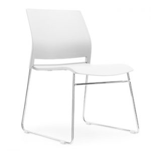 White A Frame Office Chair