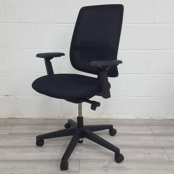 Haworth Lively Mesh Office Chair With Lumbar Support, Fully Adjustable