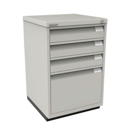 Bisley 3 Plus 1 Multidrawer Office, Under Desk Cabinets