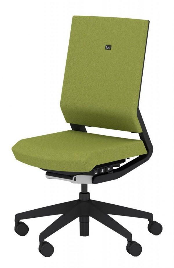 Elite I-Sit Designer Office Task Chair, Adjustable, Upholstered (New)