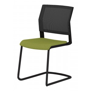 Elite I-Sit Designer Mesh Back Office Meeting Chair, Cantilever Legs (New)