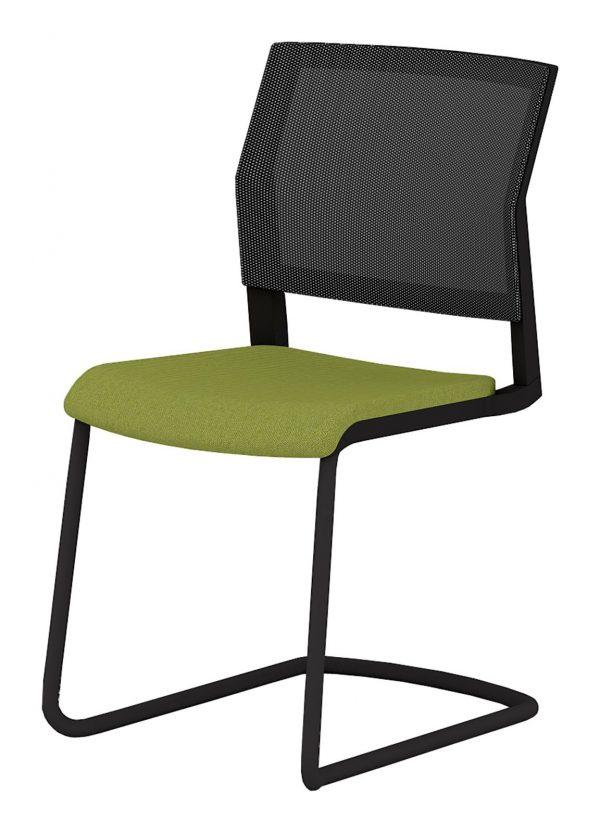Elite I-Sit Designer Mesh Back Office Meeting Chair, Cantilever Legs (New)