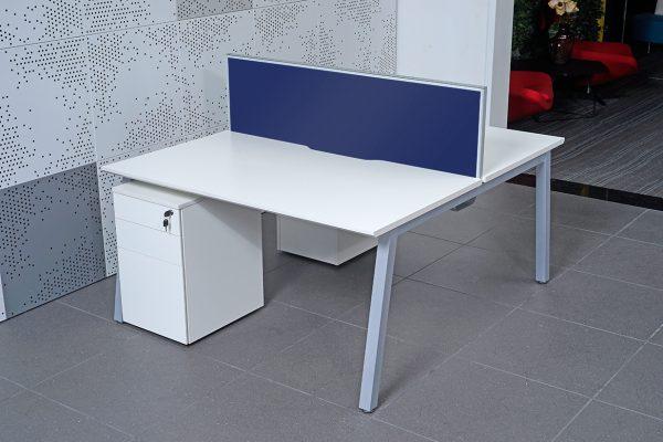 Blue Desk Screen