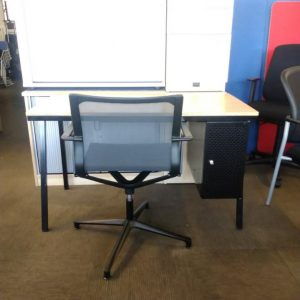 Used Bisley Desk & Pedestal + ICF Designer Meeting Chair £115+VAT