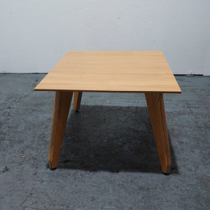 Used Sven Christiansen Square Coffee Table, Oak Finish, W600mm