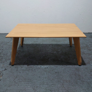 Used Sven Christiansen Rectangular Coffee Table, Oak Finish, L1000mm