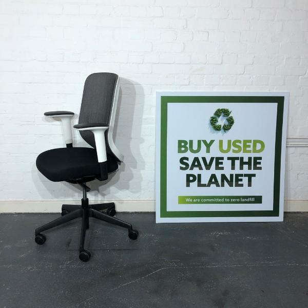 Used Orangebox Do Mesh Office Task Chair, Lumbar Support, Armrests