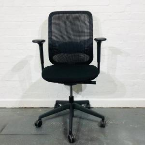 Used Orangebox Do Mesh Office Chair, Adjustable, Lumbar Support, Black