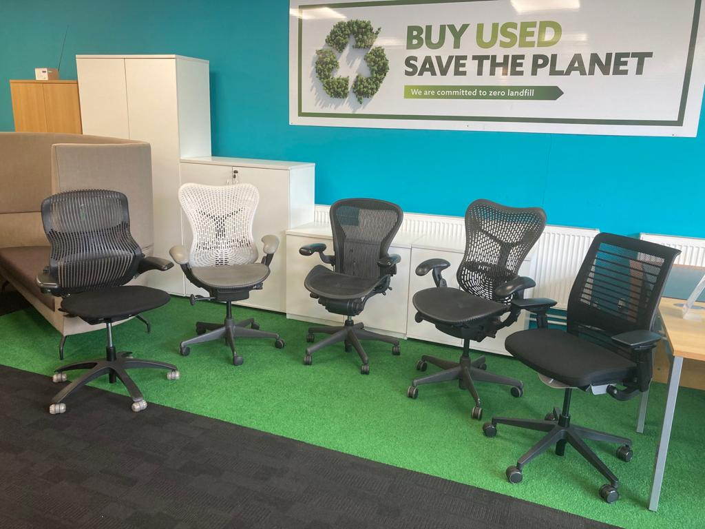 Used High End Office Chairs For Sale (Chester – Delivery Available)