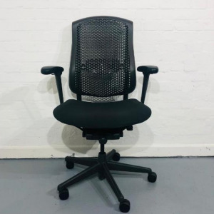 Used Herman Miller Celle Mesh Office Chair, Posturefit, Lumbar Support