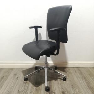 Used Orangebox Executive Office Chair, Adjustable, Armrests, Leather