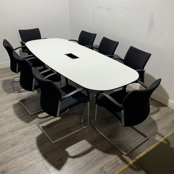 Used Offecct Boardroom / Meeting Table, 8 Person, Length 2400mm