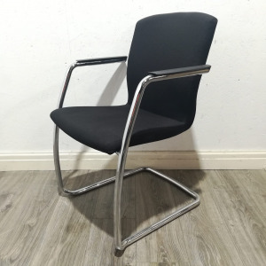 Used Senator Torasen Stackable Office / Meeting Chair, Cantilever Frame
