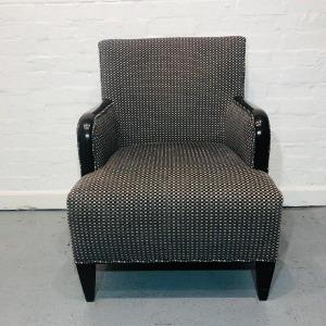 Used Retro, Vintage-Style Armchair / Lounge Chair, Raised Legs