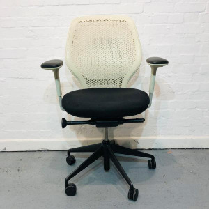 Used Orangebox ARA Office Chair, Elastomer Back, Fully Adjustable